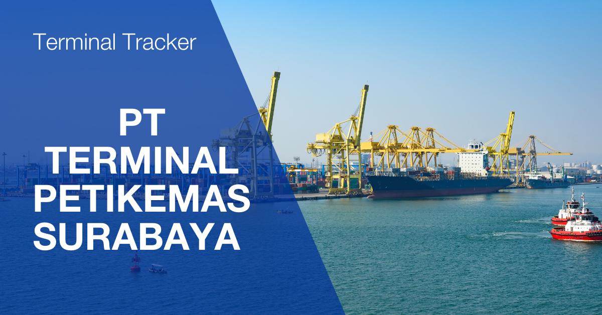 Terminal Tracker at PT Terminal Petikemas Surabaya